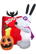 Spooked Snoopy Inflatable