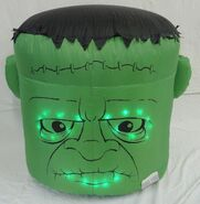 Gemmy inflatable monster head