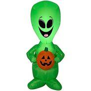 Airblown alien halloween