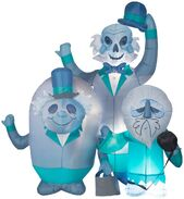 Airblown Inflatable Hitchhiking Ghosts