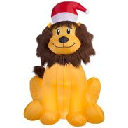 Gemmy 2016 inflatable-Christmas Lion