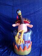 Gemmy inflatable Turkey hot tub