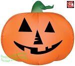 Jack O Lantern Pumpkin Gemmy Airblown Inflatable Yard Decoration Halloween 72729 thumbnail