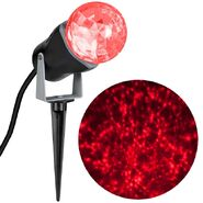 Outdoor Kaleidoscope Spotlight - Red