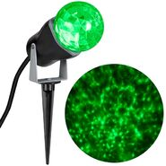 Outdoor Kaleidoscope Spotlight - Green