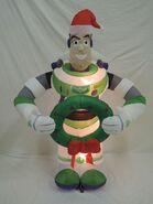 Gemmy inflatable buzz lightyear Christmas