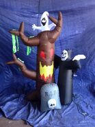 Gemmy inflatable halloween scene