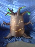 Gemmy inflatable singing haunted tree