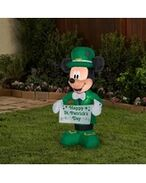 Airblown-st-patricks-day-mickey-mouse-disney-inflatable-gemmy-industries