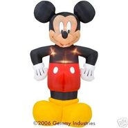 8FT AIRBLOWN INFLATABLE MICKEY MOUSE