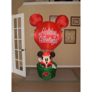 Prototype Mickey In Hot Air Balloon Inflatable