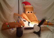 Gemmy inflatable Christmas Disney planes