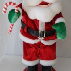 Details about  /Electric Parachute Santa Claus Doll Christmas Dancing Booty Shaking Singing Son