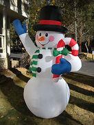 2002 8ft snowman