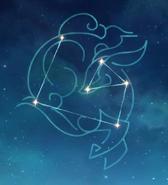 Arte de constelación Sinae Unicornis