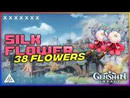SILK FLOWER - 38 PCS