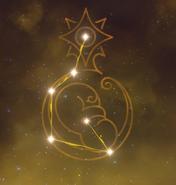 Arte de constelación Princeps Cretaceus