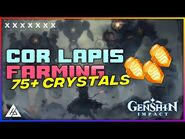 COR LAPIS - 75+ CRYSTALS BEST ROUTE GUIDE - GENSHIN IMPACT - CG GAMES