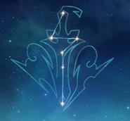 Arte de constelación Nubis Caesor