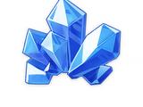 Pedazo de cristal mágico