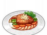 Estofado de carne y manzana del Norte