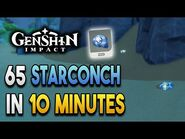 【Genshin Impact】Starconch Locations - Fast and Efficient - Ascension Materials
