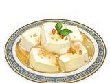 Tofu de almendras