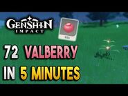 【Genshin Impact】Valberry Locations - Fast and Efficient - Ascension Materials