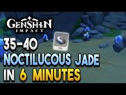 【Genshin Impact】Noctilucous Jade Locations - Fast and Efficient - Ascension Materials