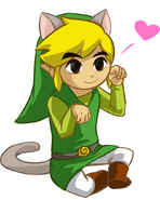 Toon link nyan by hylian guardian-d4o4y2t