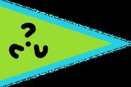 Quoigender green blue ? flag