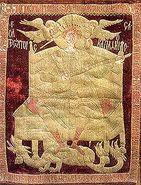 Moldavian battle flag
