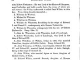 Robert De Wintona, or Winchstria (c1100) of Glomorganshire