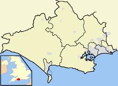 Dorchester is located in Dorset