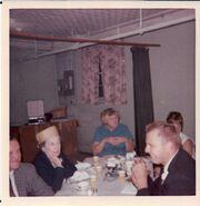 Wedding reception of Nancy Knutsen Dietz on September 15, 1968