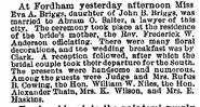 Salter Briggs 1886 marriage