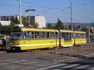Tram K3R-NT Plzen Czech republic