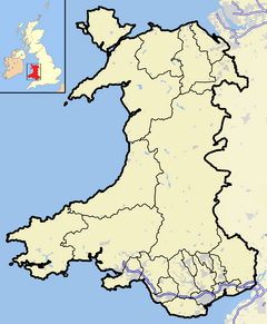 Bangor is located in Wales2