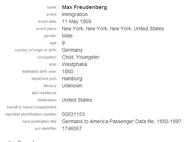Freudenberg-Max 1869 migration