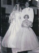 Marriage of Naida Lynette Van Deusen and Henry Antone Dahl in 1958