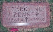 Caroline-Renner-Gravestone