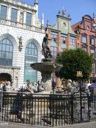Gdańsk - Neptune's Fountain