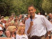 Barack Obama in New Hampshire