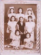 Jalandoni-Pulmonessister with Eusebia Belostrino Villarin Jover-Banas nieces