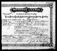 Jensen Caro 1902 marriage