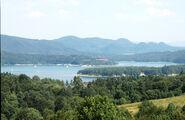Solina lake view