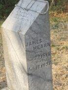 James Robert Hearn headstone
