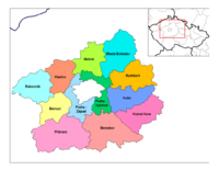 Districts of Central Bohemia