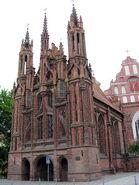 Vilnius Sv Onos baznycia Saint Ann's church2