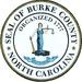 Seal of Burke County, North Carolina